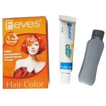 Feves Hair Color 60 mL @ 1 Pcs