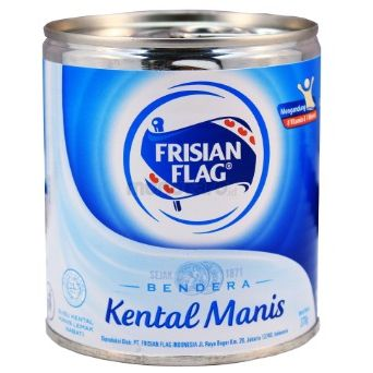 Bendera Kental Manis Putih Can 370 Gr @ 2 Pc