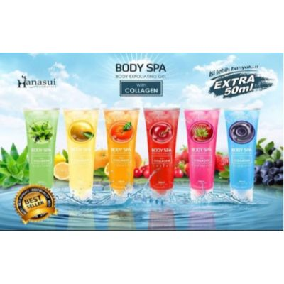 Hanasui Body SPA 300 ml ( All Varian ) @ 1 Pc