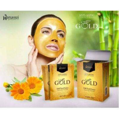 Hanasui Peel Of Mask Gold 10 Gr @ 1 Box