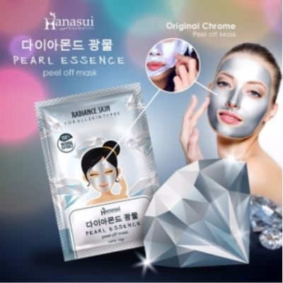 Hanasui Pearl Essense Peel Of Mask 10 Gr @ 1 Box
