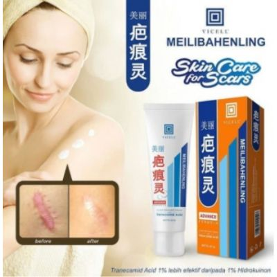 Hanasui Vicell Meilibahenling Scar Treatment 60 Gr @ 1 Pc